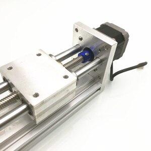 Image 5 - 170Mm Trục Z Trượt Du Lịch CNC ROUTER Chuyển Động Thẳng Bộ Cho Reprap 3D Máy In CNC Không/Có Động Cơ (Thứ Hai Tay NEMA17stepper)