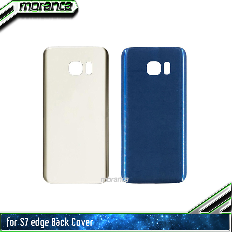 S7 Edge Back Cover For Samsung Galaxy S7 G930F S7 Edge G935F Back Battery Cover Door Rear Glass Housing Case With Tracking