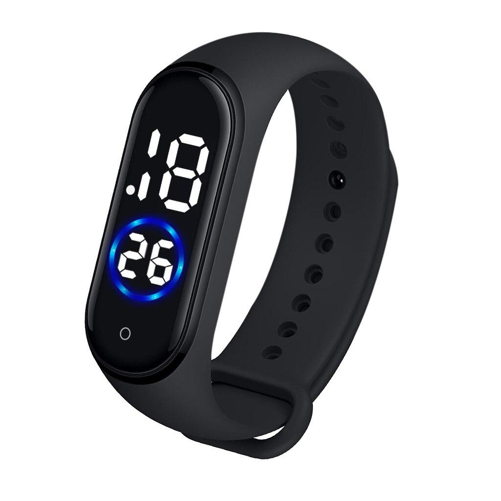 Модные цифровые часы, водонепроницаемые, светодиодный, электронные, спортивные, светящиеся, с датчиком, часы унисекс, нарядные часы, reloj hombre L58 Цифровые часы      АлиЭкспресс