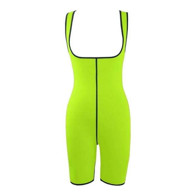 Ultra Neoprene Corset Bodysuit, Inner and Outer Wear Abdomen Belt Corset, Sports Sweat Wicking Bodysuit Gym Clothes 2