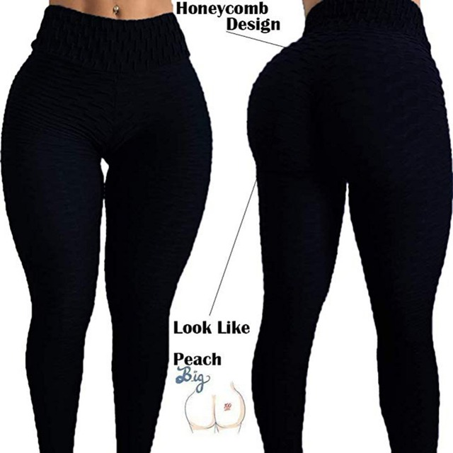 Women Anti-Cellulite Yoga Pants White Sport leggings Push Up Tights Gym Exercise High Waist Fitness Running Athletic Trousers 3