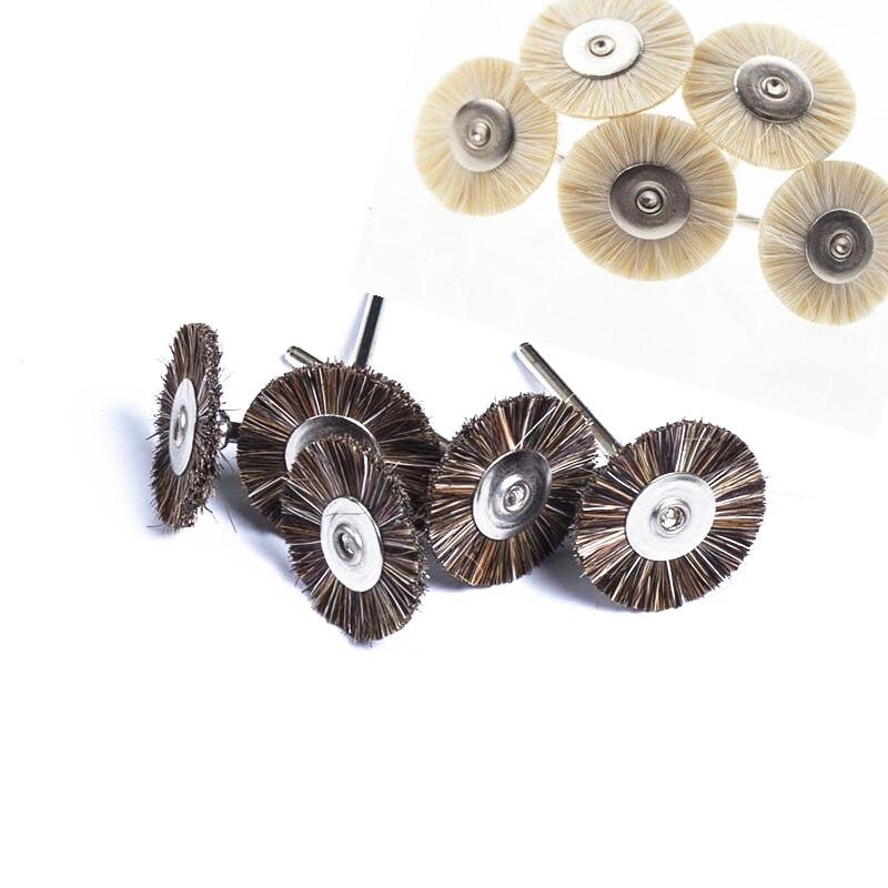 50pcs Dental Lab Beauty Brush Polishing Wheel Polishers for Rotary Tools Jewelry Buffing 2.35mm|Teeth Whitening| - AliExpress