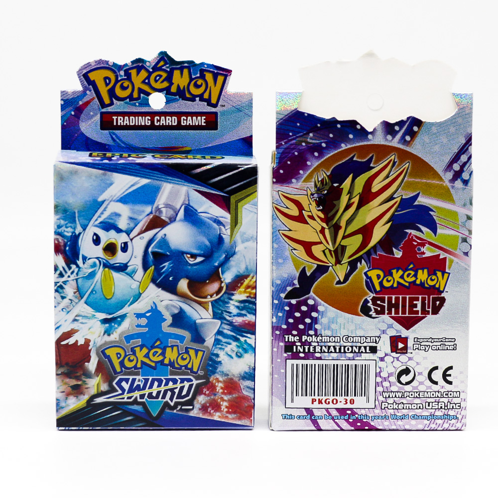 2020 Takara Tomy New Pokemon Cards Sword And Shield Shining Box GX Flash Cards Energy Trainer Tag Team 25pcs Toys For Kids