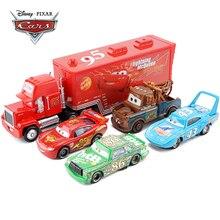 Disney Pixar Cars 3 Lightning Mcqueen Jackson Storm Mater 1:55 Diecast Metalen Legering Model Auto Speelgoed Kerstcadeau Kinderen Jongens