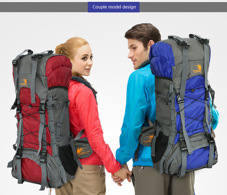 Free Knight 60L Outdoor Waterproof Hiking Camping Backpack To Pack All Equipment For Outdoor Sports