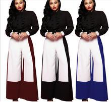 Rd повседневные женские широкие брюки полной длины высокая эластичность