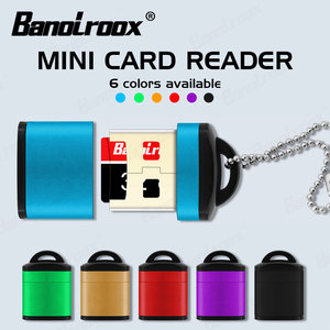 Colorful memory card Reader micro sd card Adapter for TF/Microsd cards reading high speed Micro USB 2.0 sd Memory Cardreader