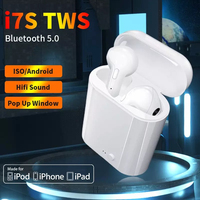 Vendita calda i7s TWS auricolare Bluetooth per tutti gli Smart Phone Sport cuffie auricolari Stereo Wireless Bluetooth In-ear dacdset pod