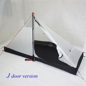 Image 4 - 340 גרם J דלת/390 גרם T דלת עיצוב ארבע עונות inner210 * 95/75*112cm אוהל