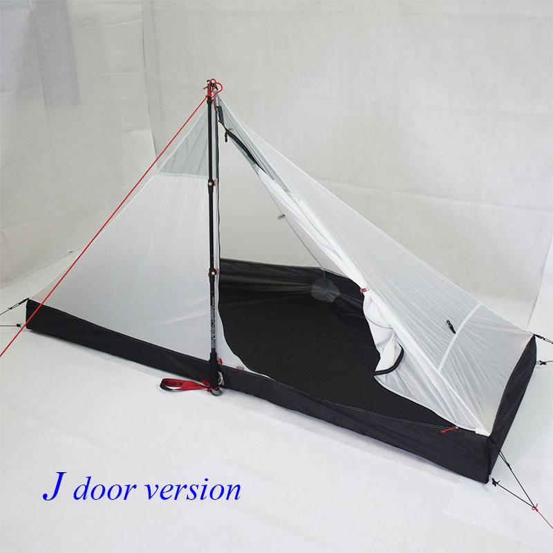 Image 4 - 370 grams Lanshan 1 Four seasons inner T door design 210*95/75*112cm tentTents