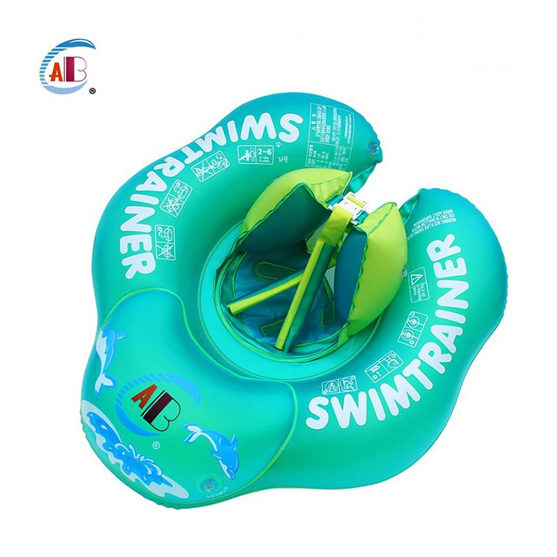Baby Float Swimming Ring Neck Ring Swimming Underarm Swimming Ring Inflatable Anti Rollover Anti-choked Water Swim Accessories