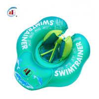 Flotador de anillo de natación para bebé, boya de natación infantil, juguetes de piscina, flotador circular para bebé, anillos inflables de balsa Doble