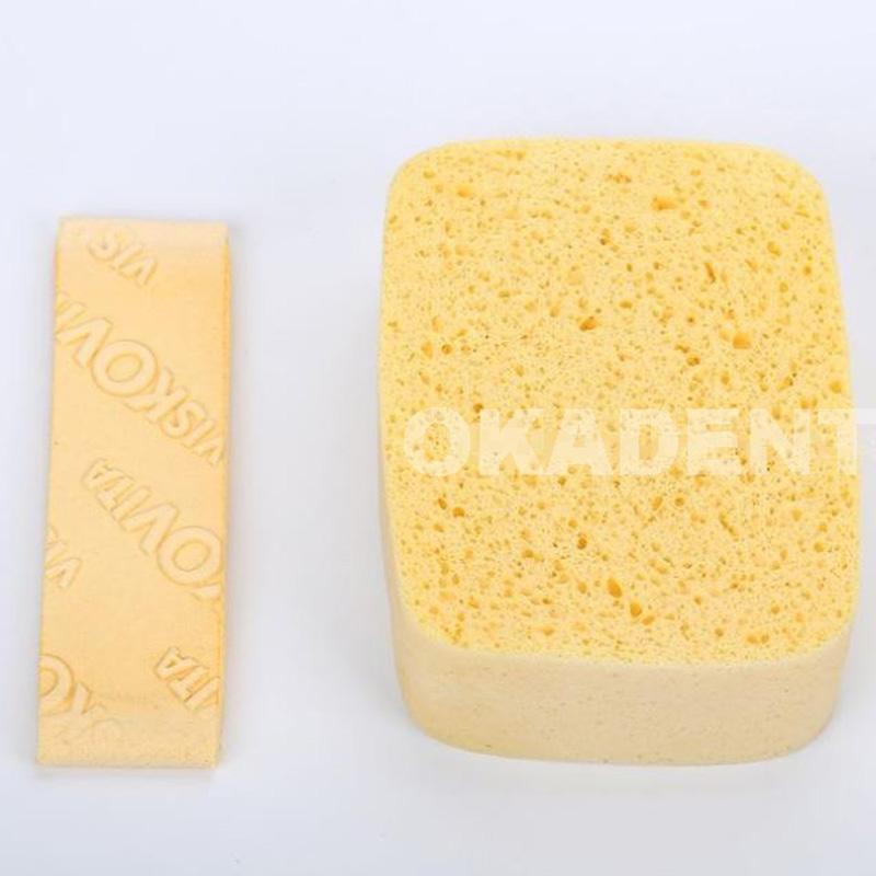 Dental Lab Material Viscose Sponge Absorbent Sponge,good Quality For Applying Porcelain