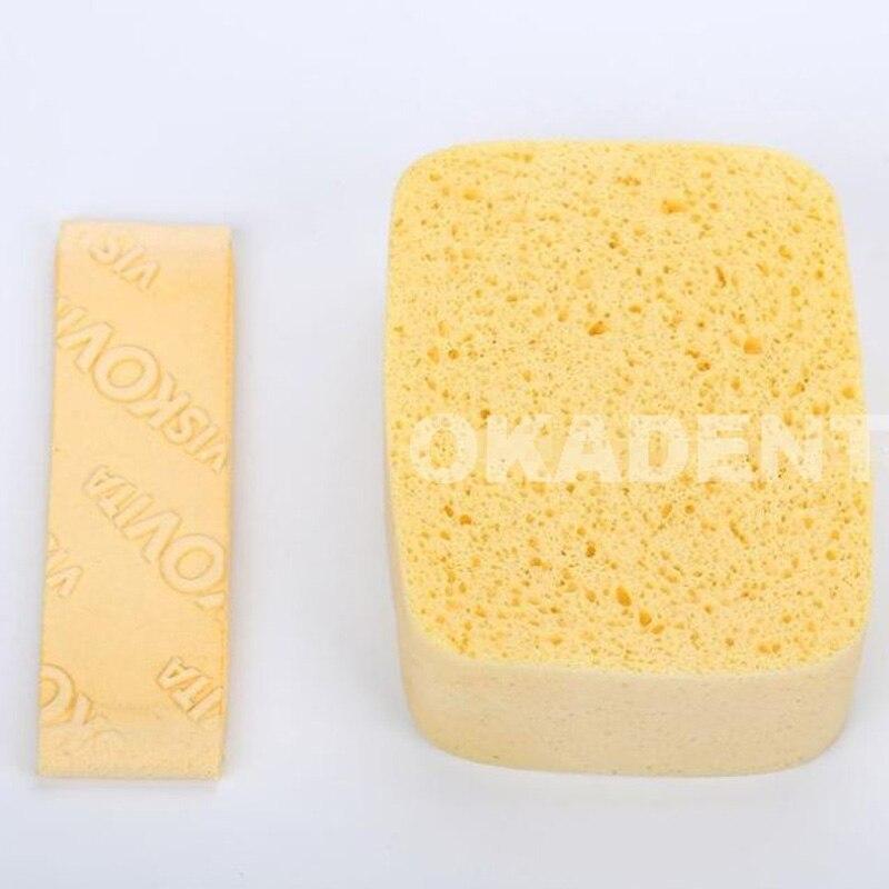 Dental Lab Material Viscose Sponge Absorbent Sponge,good Quality For Applying Porcelain