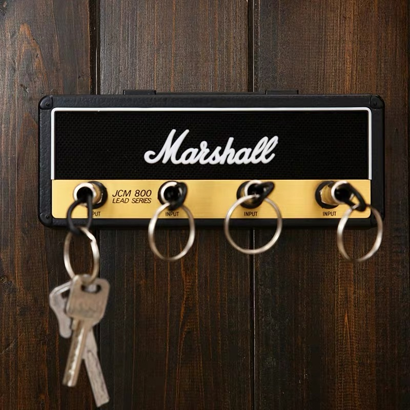 Key Storage Marshall Key Holder Wall Marshall Guitar Keychain Hanger Jack II Rack 2.0 Key Rack Amp Vintage Amplifier JCM800