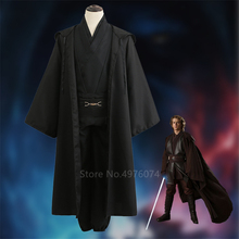 Costume Anakin Robe Clothing-Set Skywalker Jedi Knight Carnival-Anime Halloween Cosplay