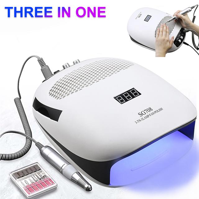 Full-featured 140W Manicure Machine With 30000Rpm