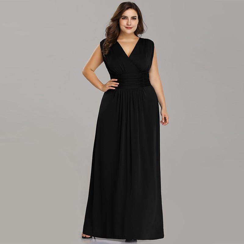 Купить это yiiya вечернее платье элегантное для женщин с v образным