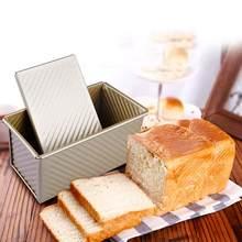 Moule à pain rectangulaire antiadhésif en acier au carbone, outils de cuisson écologiques pour gâteaux