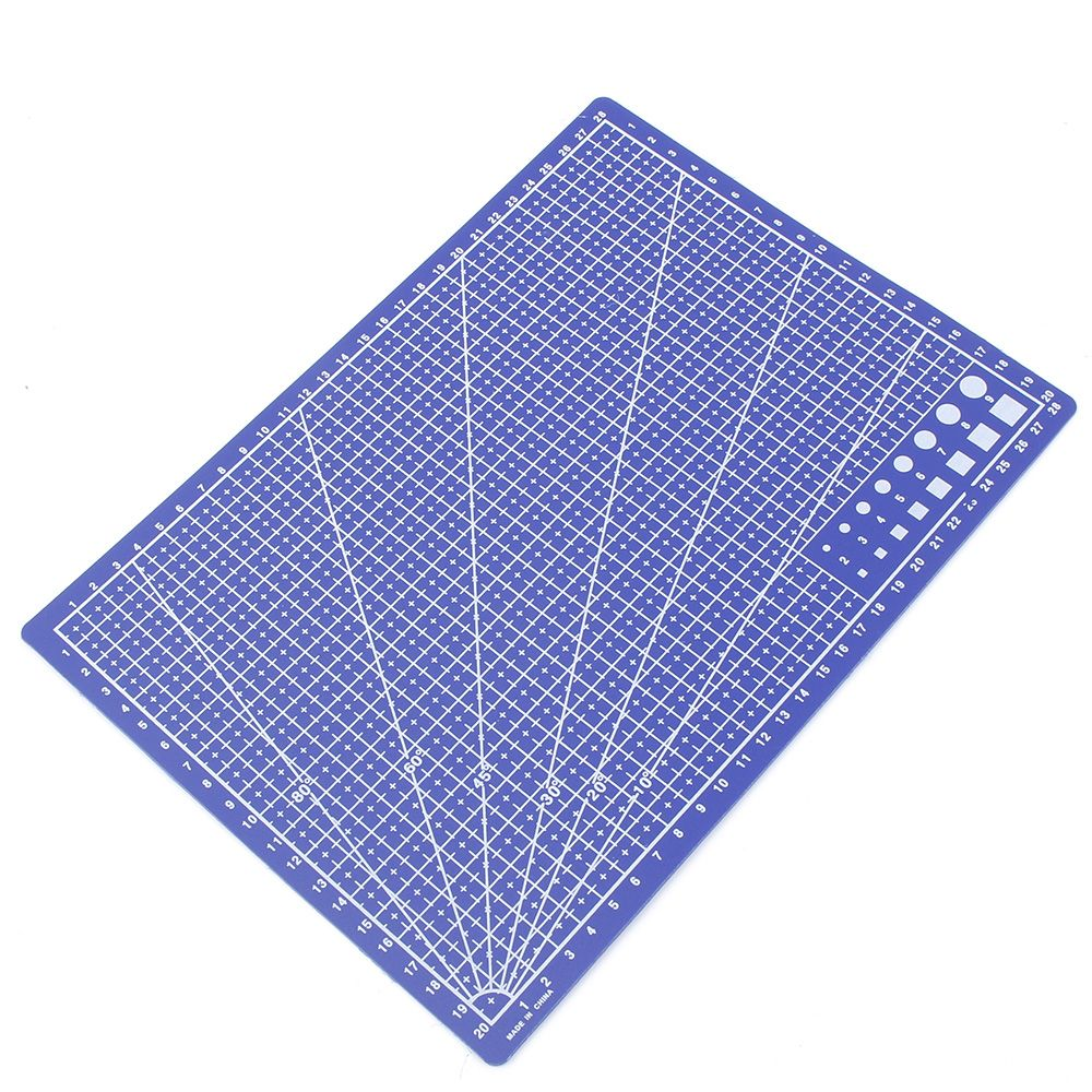 A4 / 30 * 22cm Grid Lines  Sewing Cutting Mats  Scale Plate Card Fabric Leather Engraving Cutting Board Mat Handmade Hand Tools