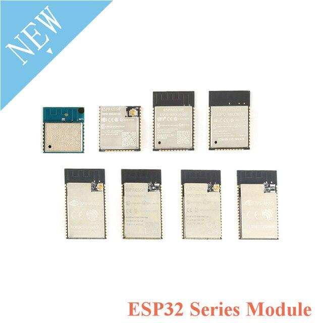 ESP ESP32 ESP 32 modülü ESP32 WROOM ESP32 WROVER serisi modülü ESP32 WROOM 32D 32U 02 ESP32 WROVER I  IB  B ESP8266 WiFi IPEX