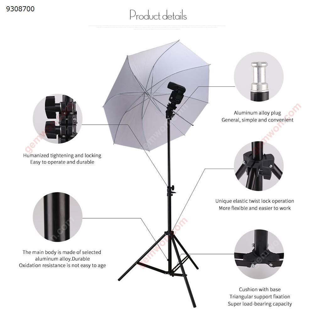 170cm 6.5 Inch Light Stand Studio Photography Flash Speedlight Umbrella Stand Holder Bracket Tripod