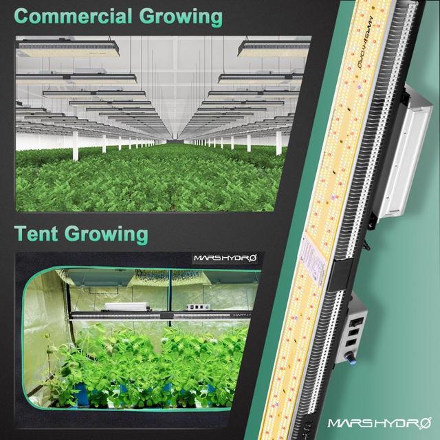 Sale! Mars Hydro SP 3000 6500 Samsung LM301B LED Grow Light Full Spectrum Best for Plant Veg / Flower 6
