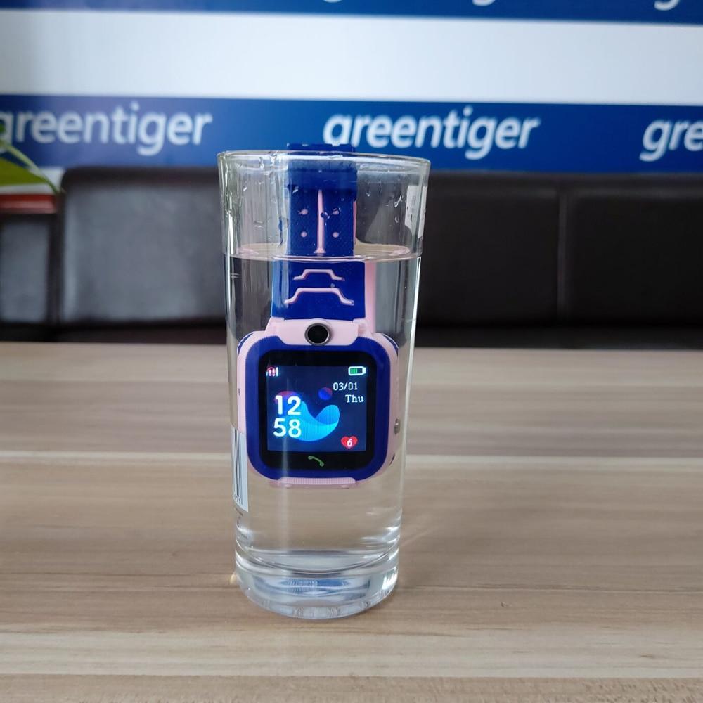 Q12 Waterdichte Kinderen Slimme Horloge Sos Antil-Verloren Smartwatch Baby 2G Sim-kaart Klok Oproep Locatie Tracker Smartwatch pk Q50 Q90 3