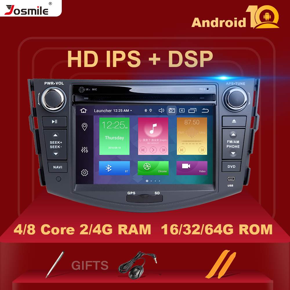 IPS 4 Гб 2din Android 10 автомобильный Радио dvd плеер для Toyota RAV4 Rav 4 2006 2007 2008 2009 2010 2011 2012 Мультимедиа GPS навигация|Мультимедиаплеер для авто|   | АлиЭкспресс