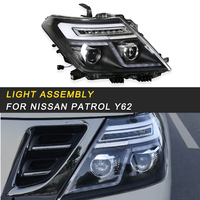 Front Head Light Assembly Exterior Replacement Parts for Nissan Patrol Y62 Auto Car styling