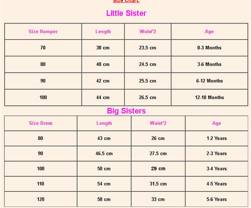 Keluarga Yang Sesuai dengan Anak-anak Bayi Gadis Besar/Adik Perempuan Musim Panas Bunga Baju Monyet Gaun Headband Pakaian