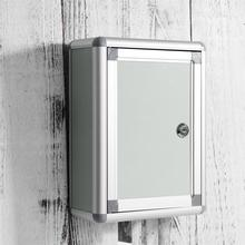 Suggestion-Box Mailbox Complaint-Box Wall-Hanging Small with Lock Aluminium-Alloy