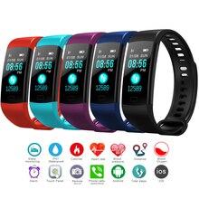 смарт часы Heart Rate Blood Pressure Monitor Tracker Fitness Smart Bracelet Waterproof Watch Pedometer
