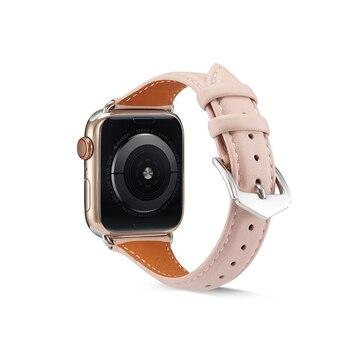 Ремешок из натуральной кожи для Apple Watch 38-42 мм 2