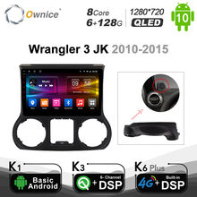 6G+128G Ownice 4G LTE 8 Core Android 10.0 SPDIF DSP Car DVD Player Radio For Jeep Wrangler 3 JK 2010 2012 2015 2016 2017