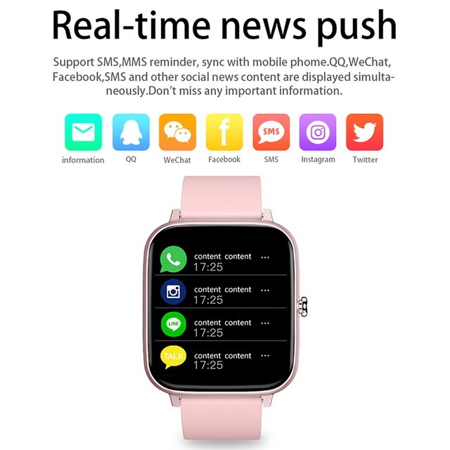 2021 Smart Watch Women Men Heart Rate Fitness Tracker Bracelet Watch Bluetooth Call Waterproof Sport Smartwatch For Android IOS 6