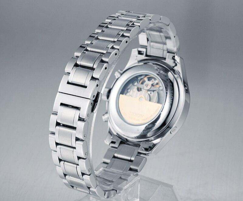 H3ff0c44ffdc0425d8c533d4a956f9df5O GUANQIN Automatic Mechanical Men Watches Top Brand Luxury Waterproof date Calendar Moon Leather Wristwatch Relogio Masculino A