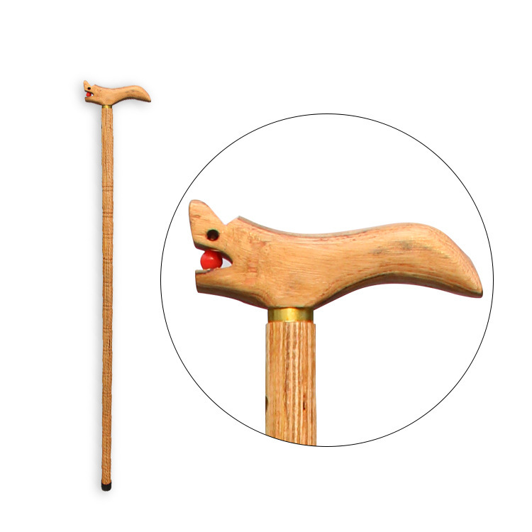 Manufacturers Direct Selling Ggs Mu Wooden Leading Crutches Walking Stick For The Elderly Wand Send Old Man Gift