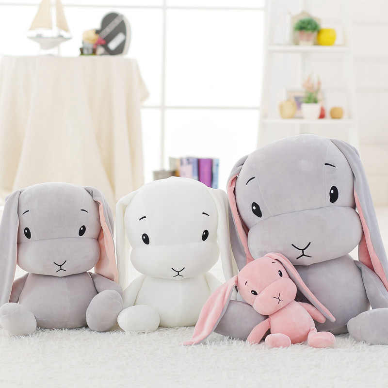 INS منتجات جديدة النسيج لينة ومريحة أرنب ألعاب من القطيفة محظوظ أرنب ألعاب من القطيفة للتخصيص