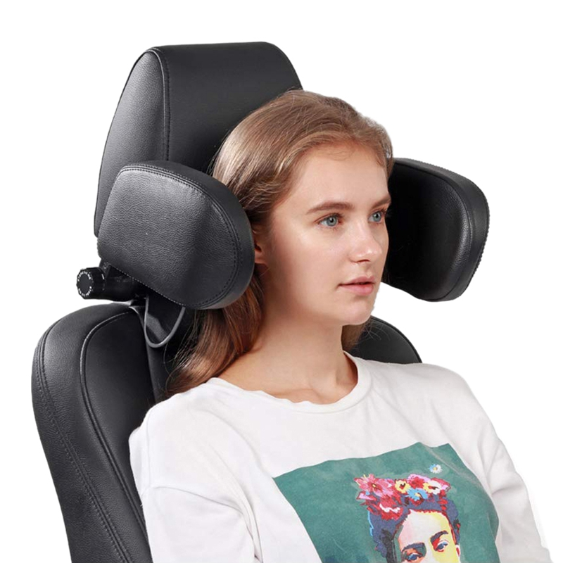 Car Headrest Nap Support,Fitted Seat Pillow Car, Functional Travel Car Accessories For Adults,Car Head Rest Child,Safe Car Seat