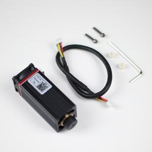 Image 5 - 레이저 커팅 머신, CNC, DIY 레이저에 대 한 TTL / PWM 변조와 450nm 전문 7W 레이저 조각 모듈 푸른 빛