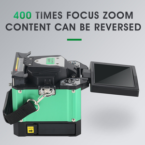 Image 3 - A 80S Green Automatic Fusion Splicer Machine Fiber Optic Fusion Splicer Fiber Optic Splicing Machine Optical Welding Machine