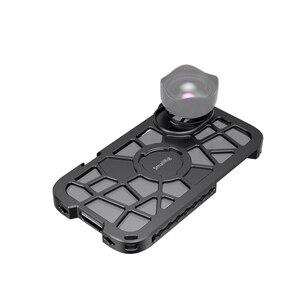 Image 4 - SmallRig Pro נייד כלוב עבור iPhone X/XS הדוק Vlogging וידאו ירי כלוב עם קר נעל הר 2414