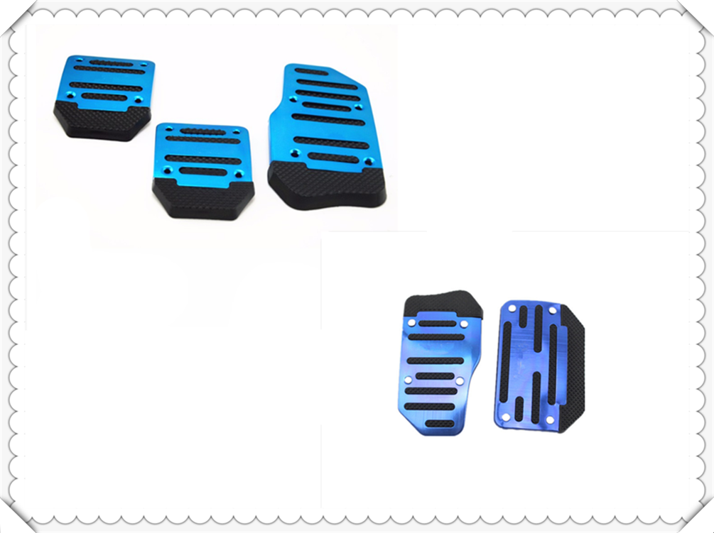 New car supplies anti-skid gearbox pedal cover brake accelerator for <font><b>Ford</b></font> Transit Ranger Mustang Ka <font><b>Fusion</b></font> Focus F-150 image
