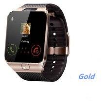 Écran tactile montre intelligente DZ09 haute connexion Bluetooth Pixel pour passer des appels SIM GSM pour Ios téléphone Android prend en charge multi langua