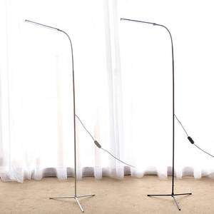 Standing Reading-Light Floor-Lamp Dimming Stable-Base Bedroom Office Modern LED USB