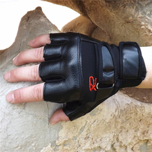 Luxury Men Tactical Gloves Unisex PU Leather Half Finger Sports Motocycle Gloves Mens Military Fingerless Glove