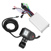 24V 36V 48V Parts Durable LCD Display Stable Electric Bicycle Controller Multiple Setting Control Brushless Dual Mode 250W 350W
