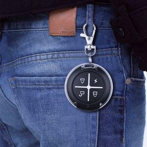 Image 5 - 게이트 무선 rf 4 채널 전기 복제 게이트 차고 문에 대 한 키 체인 433 mhz 원격 제어 컨트롤러