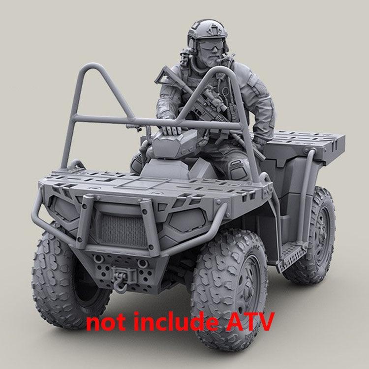 1/35 Assembly Resin Figure Kit ATV Rider (no ATV)